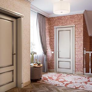 L-PORTE крашенные двери